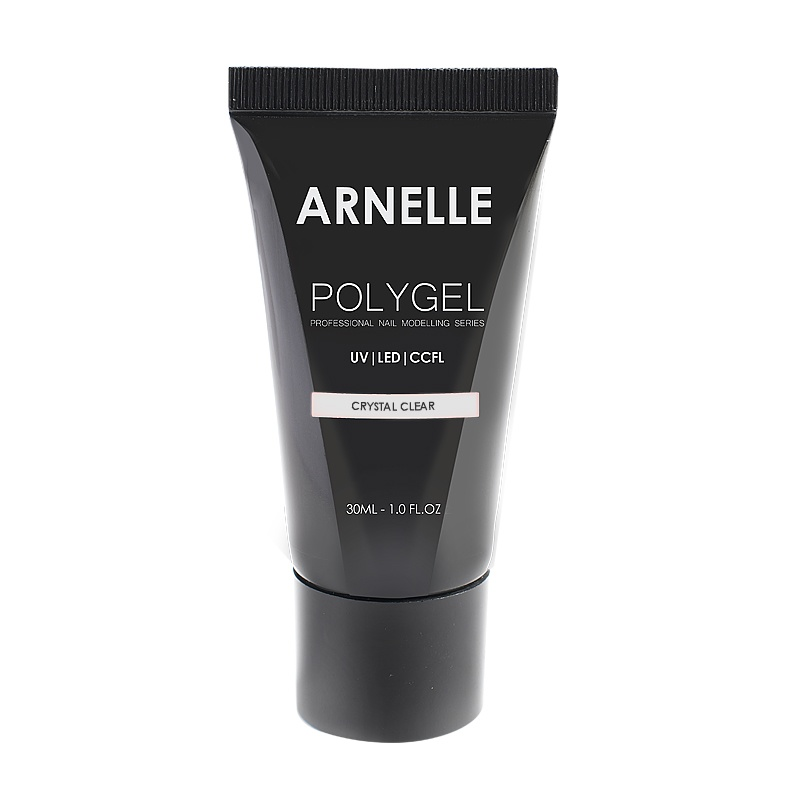 Полигель POLYGEL Arnelle Crystal Clear прозрачный, 30 мл