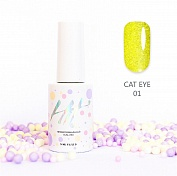 Гель-лак HIT Cat eye 5D №01, 9 мл