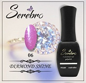 Гель-лак Serebro Diamond Shine №06, 11 мл