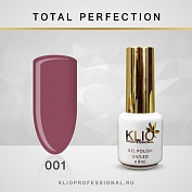 Гель-лак Klio professional TOTAL PERFECTION №001, 8 мл