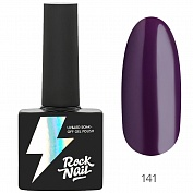 Гель-лак RockNail Basic №141 (Mr. Eggplant), 10 мл
