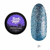 Гель-краска Diamond Flakes RockNail №31 (Backfire), 5 г