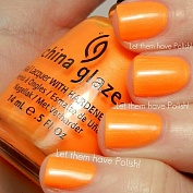 Лак China Glaze 80445 Раскаленный апельсин (Orange You Hot?) 14 мл