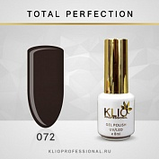 Гель-лак Klio professional TOTAL PERFECTION №072, 8 мл