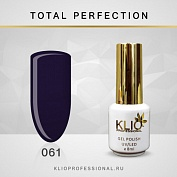Гель-лак Klio professional TOTAL PERFECTION №061, 8 мл