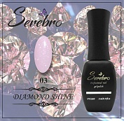 Гель-лак Serebro Diamond Shine №03, 11 мл