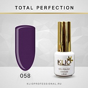 Гель-лак Klio professional TOTAL PERFECTION №058, 8 мл