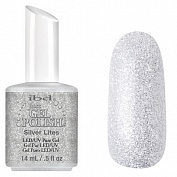 Гелевый лак ibd Just Gel Polish, 14 мл (#56572 Silver Lites)
