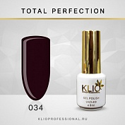 Гель-лак Klio professional TOTAL PERFECTION №034, 8 мл