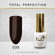 Гель-лак Klio professional TOTAL PERFECTION №039, 8 мл