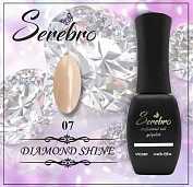 Гель-лак Serebro Diamond Shine №07, 11 мл