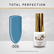 Гель-лак Klio professional TOTAL PERFECTION №008, 8 мл