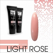 Полигель NARTIST Light Rose, 15 мл