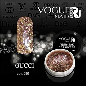 Гель-лак Vogue Nails №090 (Gucci) в баночке, 5 мл