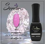 Гель-лак Serebro Diamond Shine №05, 11 мл