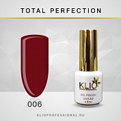 Гель-лак Klio professional TOTAL PERFECTION №006, 8 мл