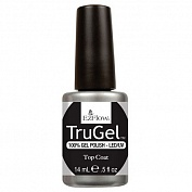 Верхнее покрытие для гелевого лака TruGel Top Coat EzFlow, 14 мл (#42259)