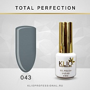 Гель-лак Klio professional TOTAL PERFECTION №043, 8 мл